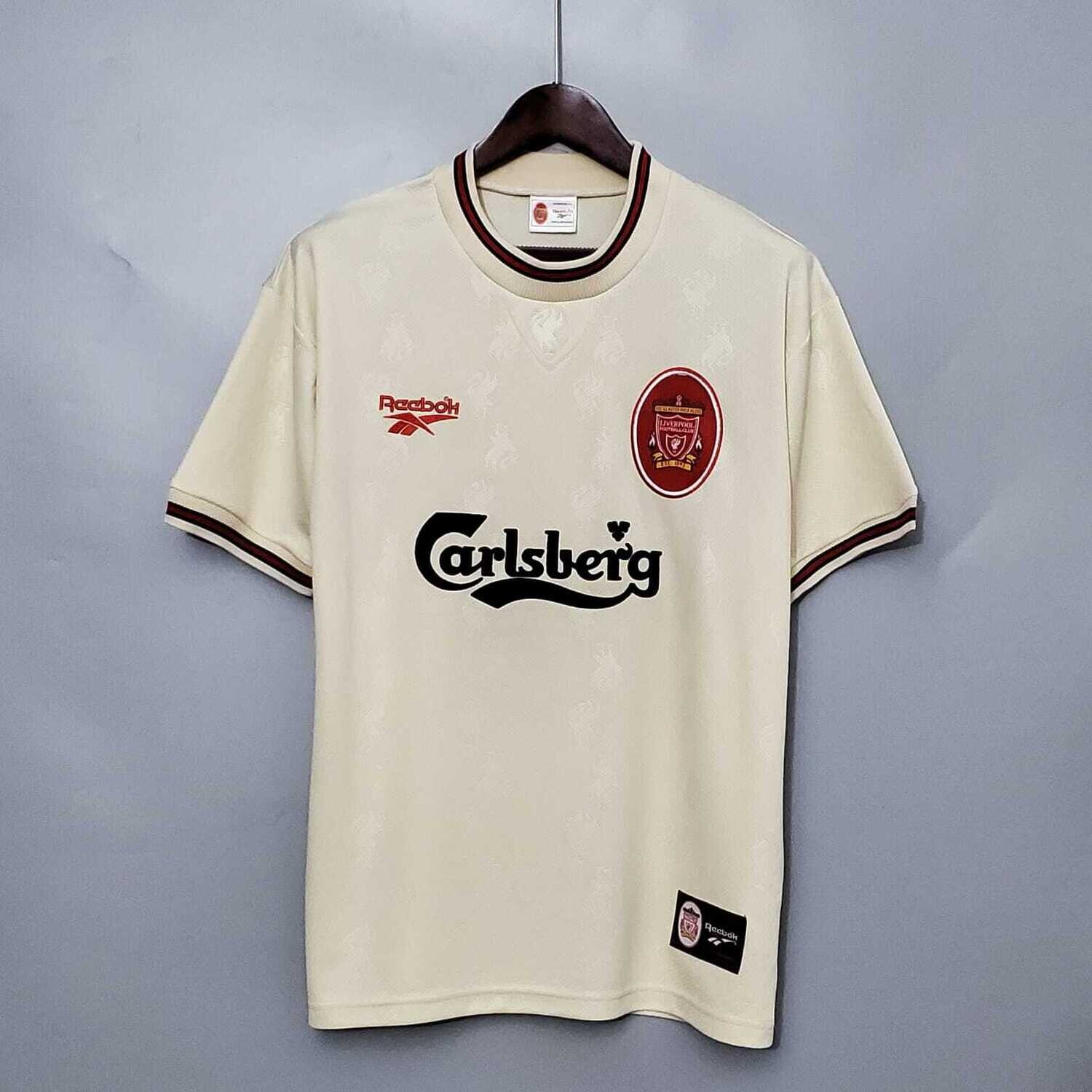 Liverpool 1996-97 Retro Away Jersey [Pre-paid Only]