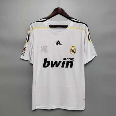 Real Madrid 2009-10 Home Jersey [Pre-paid Only]
