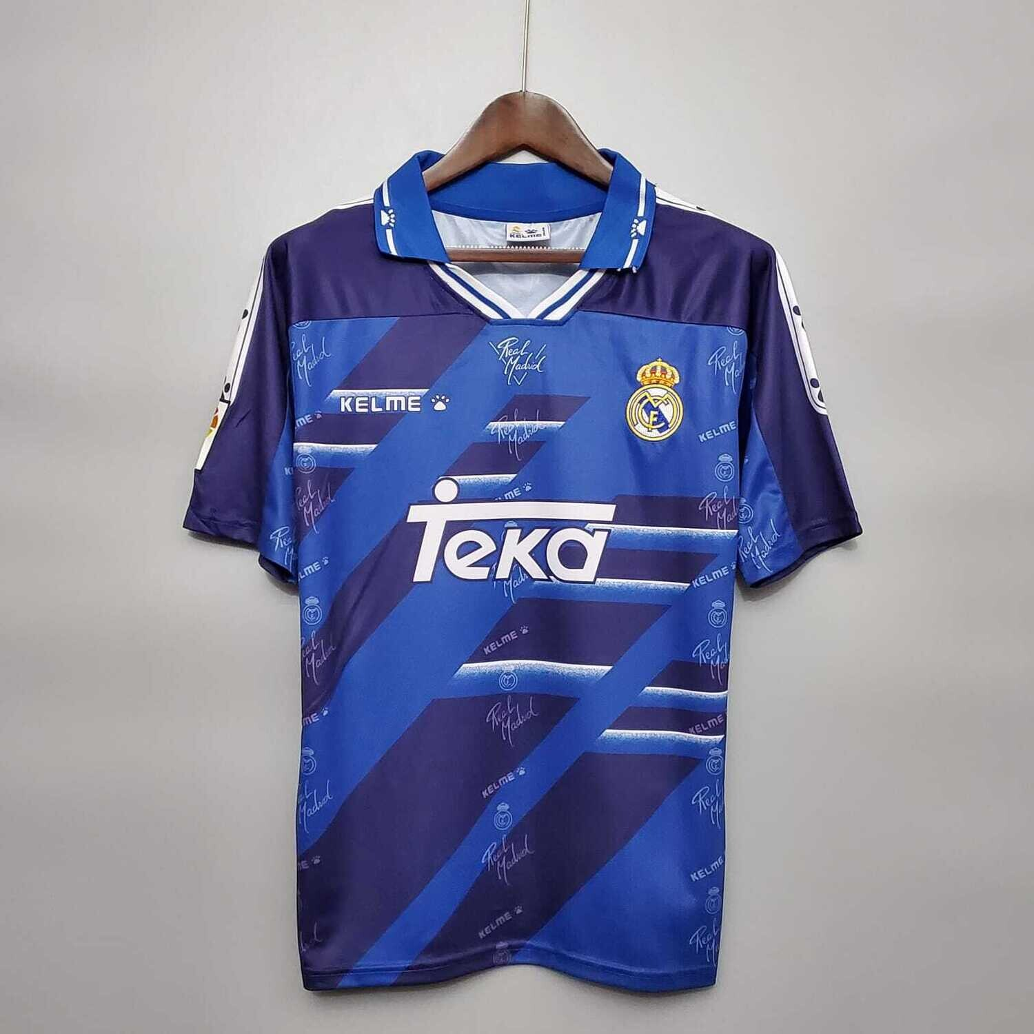 Real Madrid 1994-96 Retro Away Jersey [Pre-paid Only]