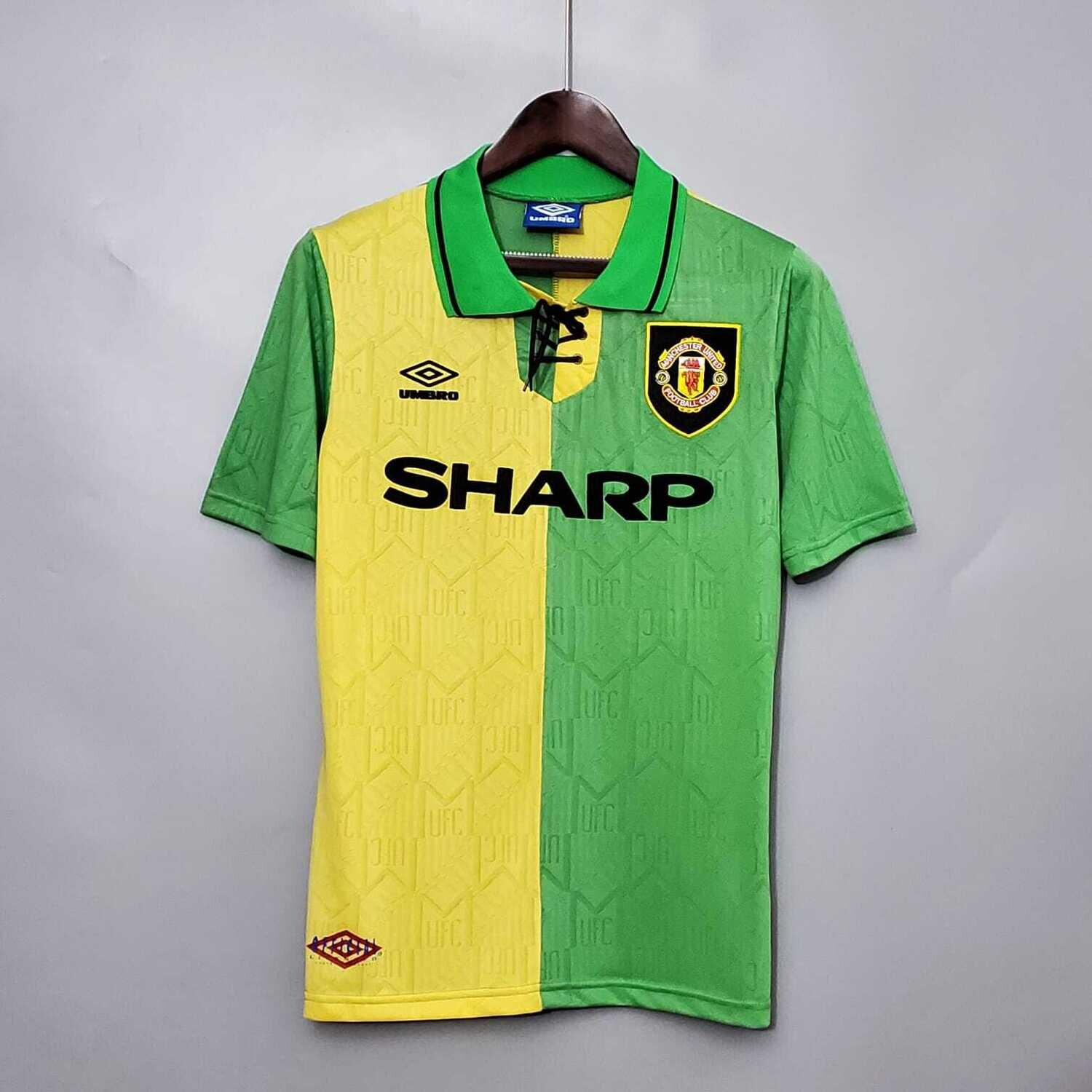 Manchester United 1992-94 Retro Away Jersey [Pre-paid Only]