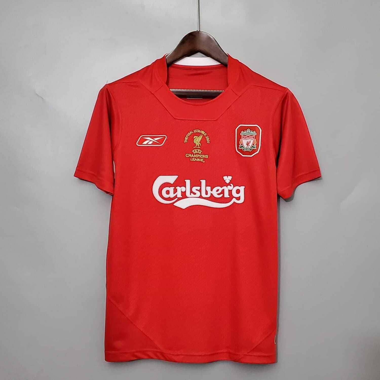 Liverpool Home 2004-05 Retro Jersey