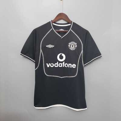 Manchester United 2000-02 Retro Goalkeeper Jersey [Pre-paid Only]