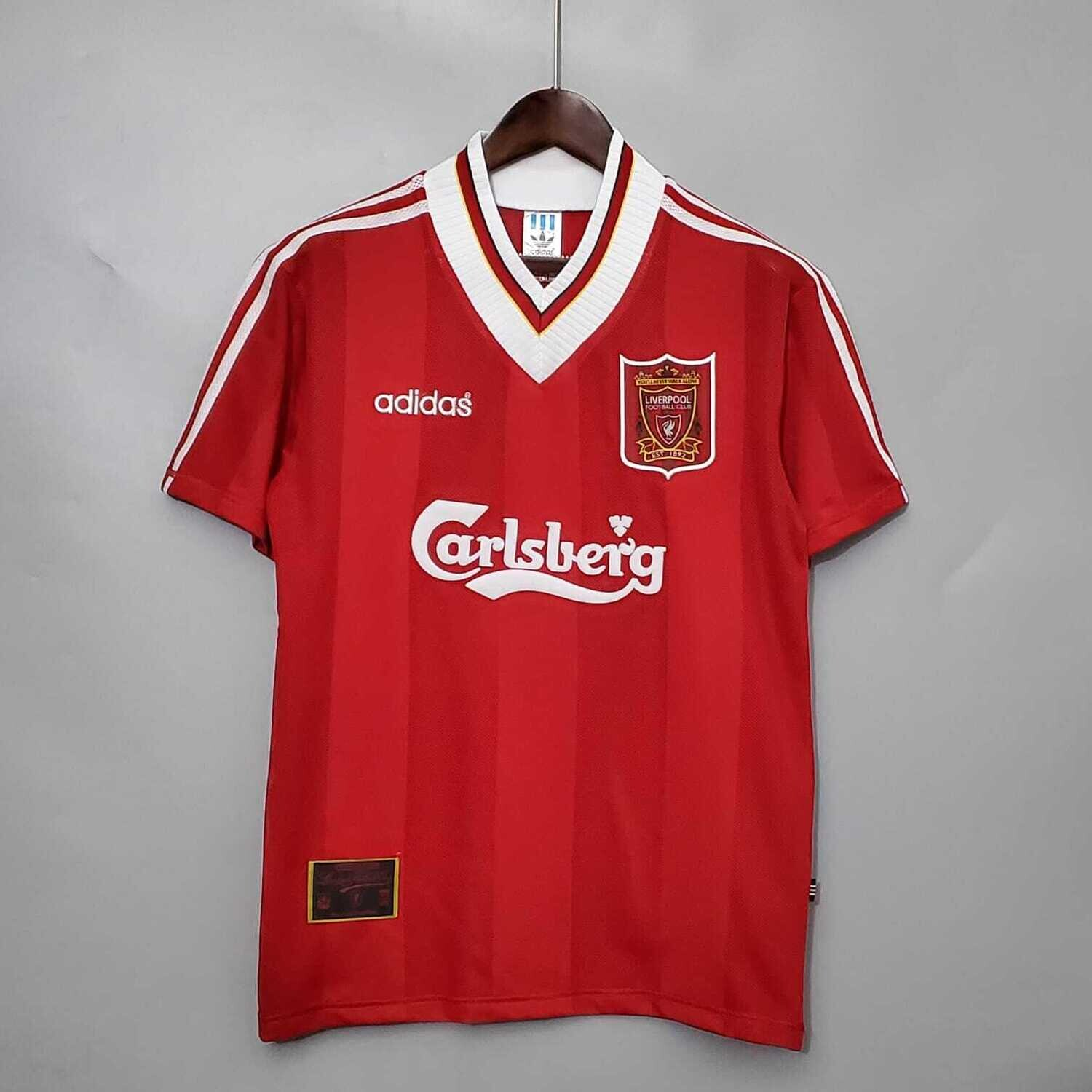 Liverpool 1995-96 Retro Home Jersey [Pre-paid Only]