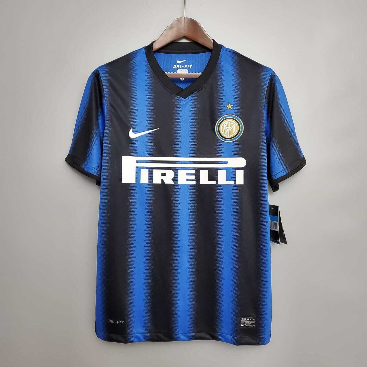 Inter Milan 2010-11 Retro Home Jersey [Pre-paid Only]