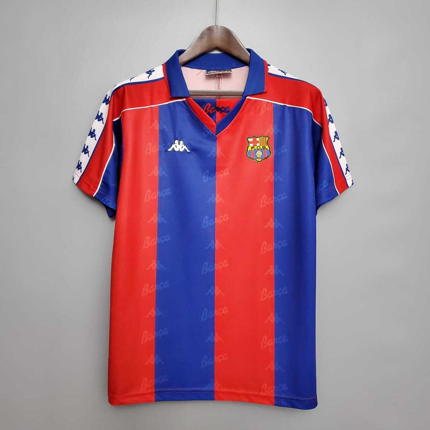 Barcelona 1992-95 Retro Home Jersey [Pre-paid Only]