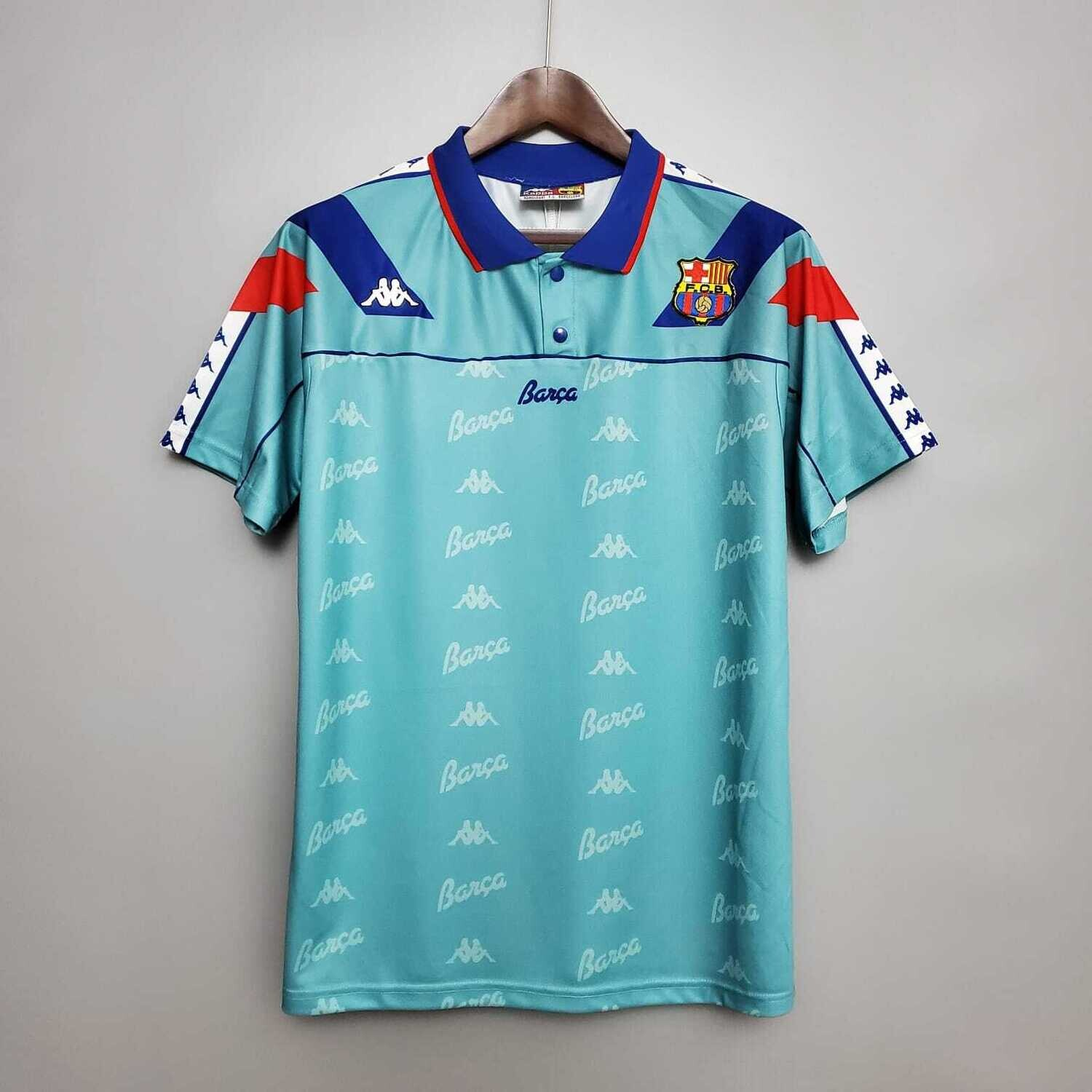 Barcelona 1992-95 Retro Away Jersey [Pre-paid Only]