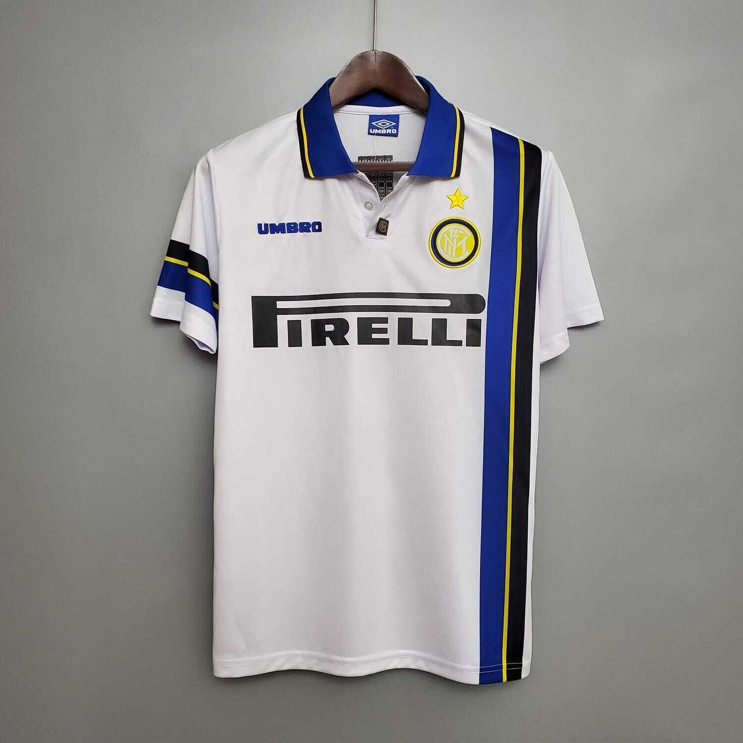 Inter Milan 1997-98 Retro Away Jersey [Pre-paid Only]