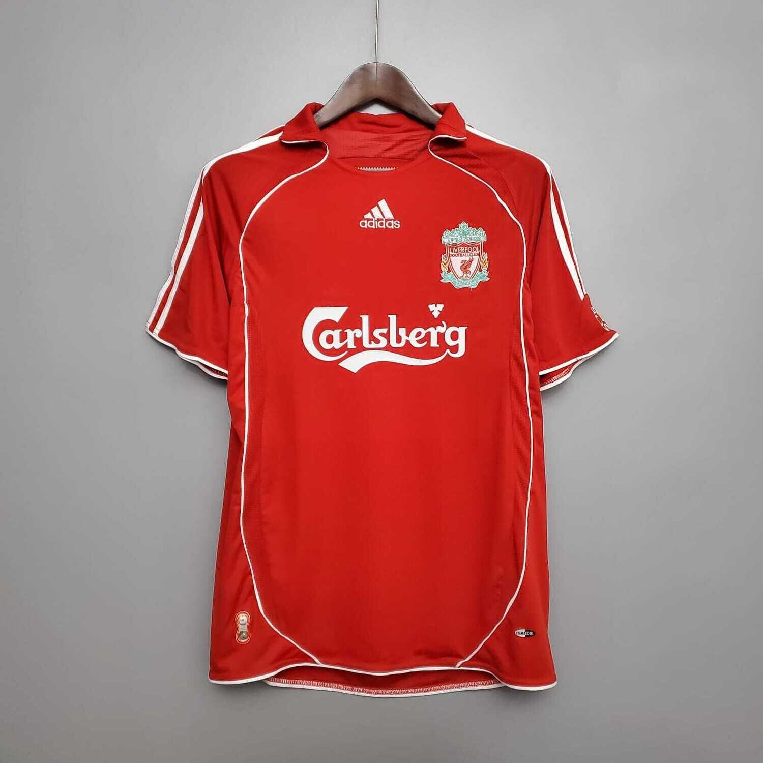 Liverpool 2006-07 Retro Home Jersey [Pre-paid Only]
