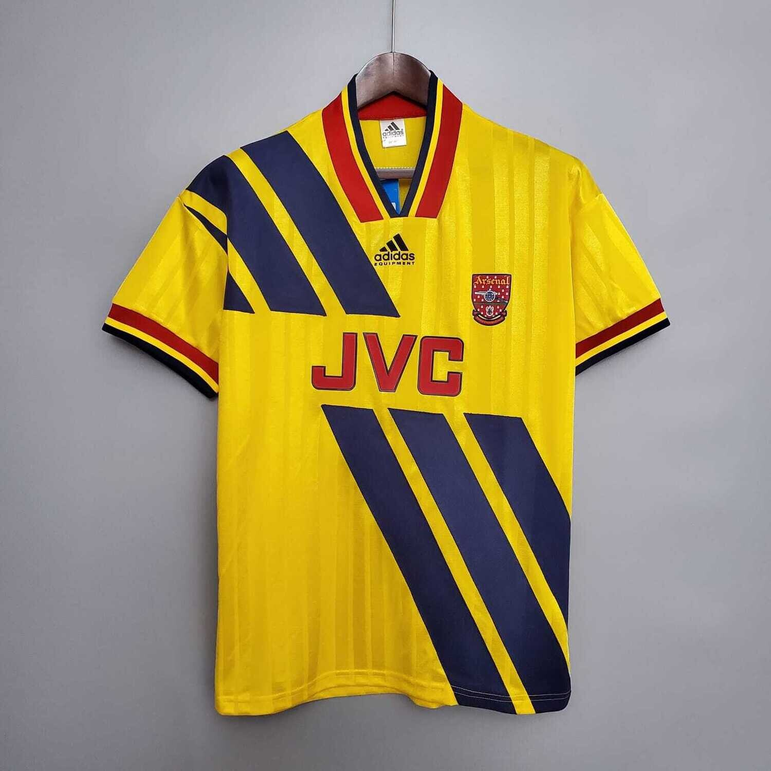 Arsenal 1993-94 Retro Away Jersey [Pre-paid Only]