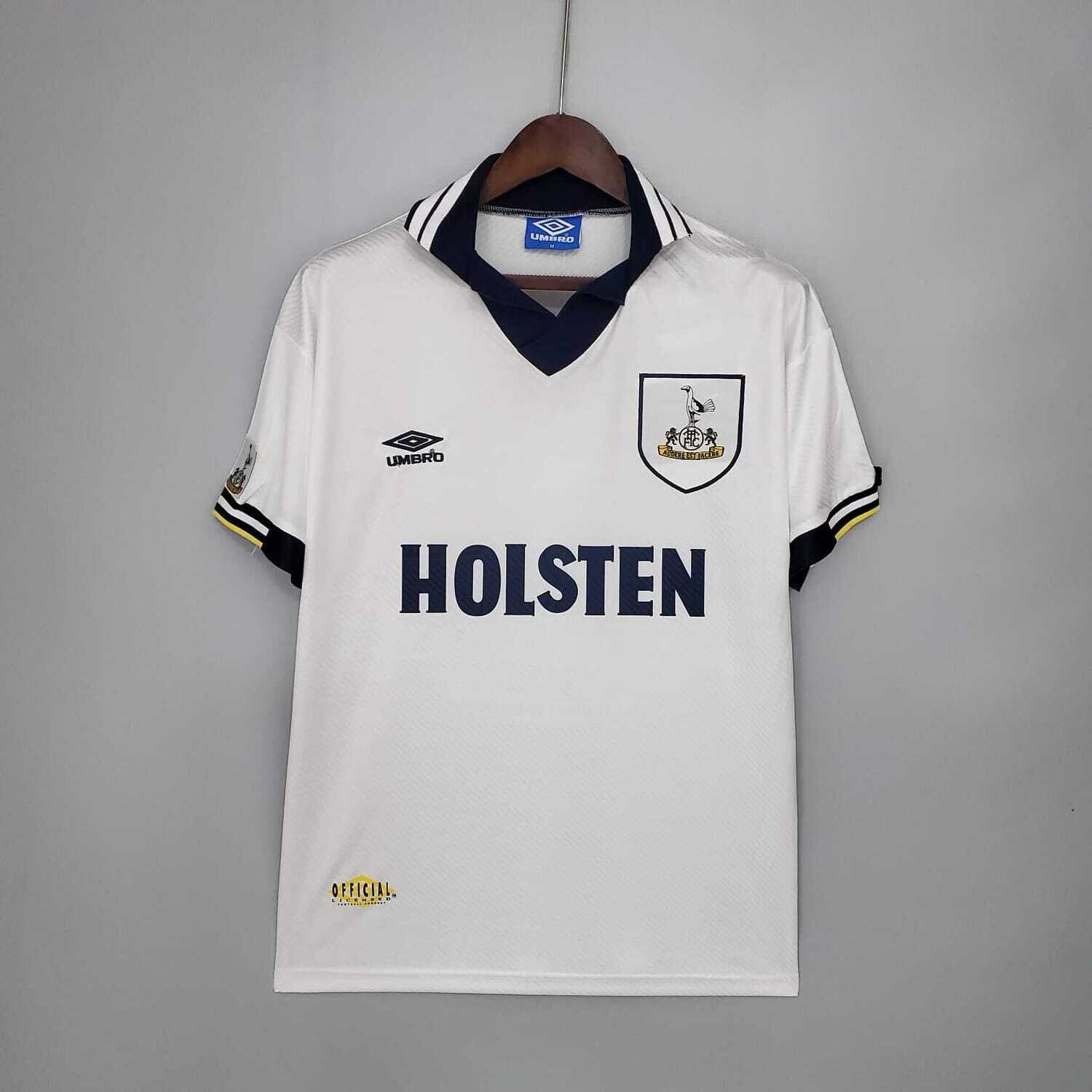 Tottenham Hotspur 1993-95 Retro Home Jersey [Pre-paid Only]