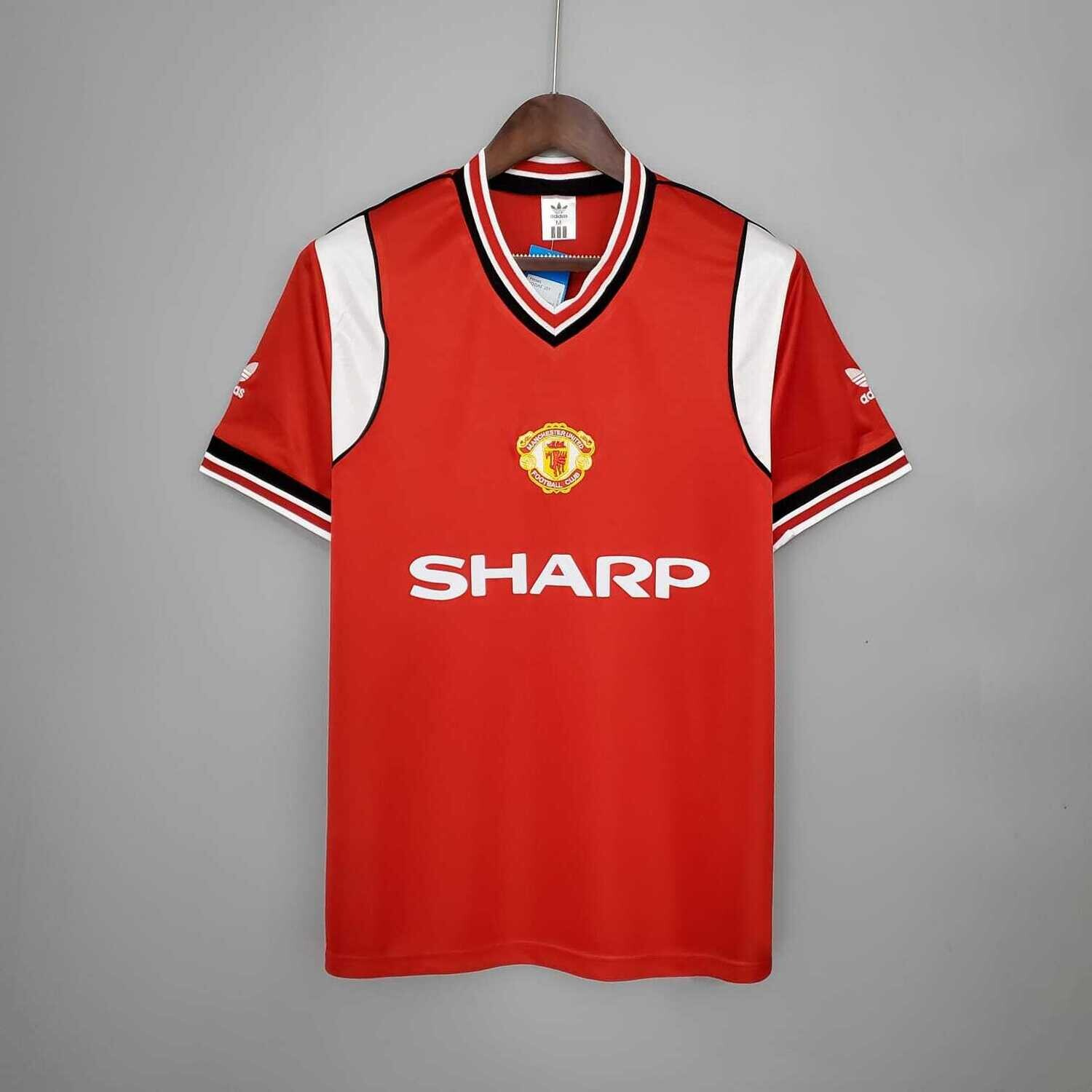 Manchester United 1984-86 Retro Home Jersey [Pre-paid Only]
