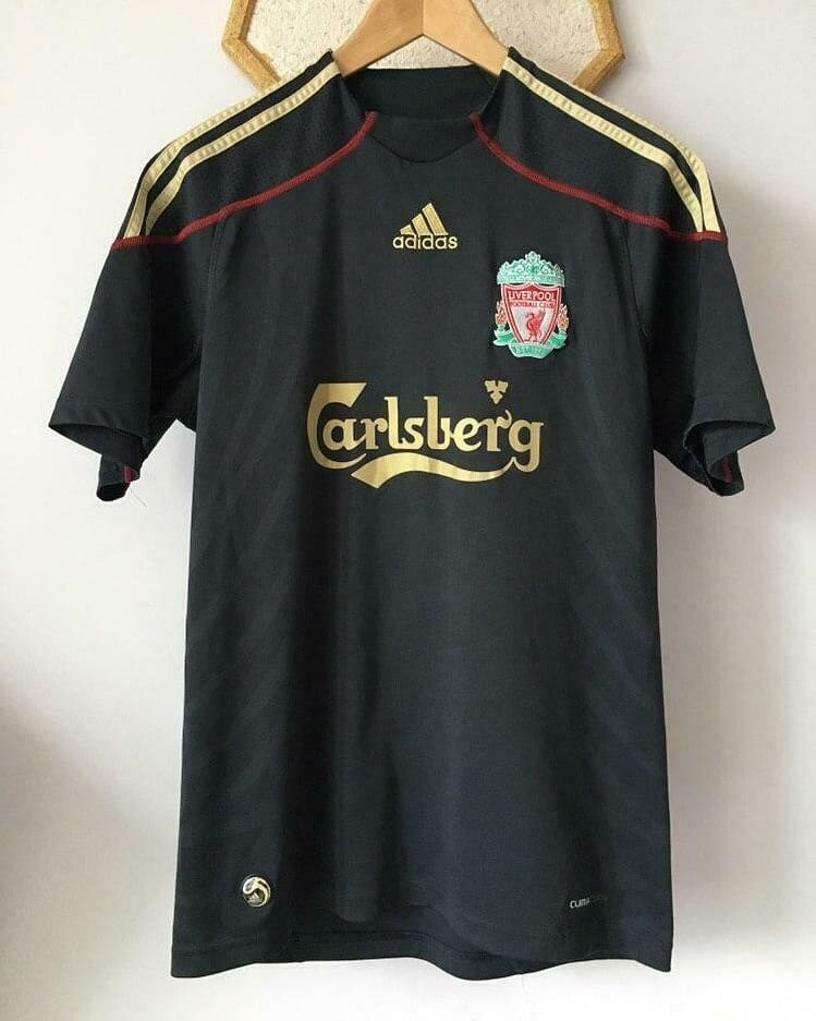 Liverpool 2009-10 Retro Away Jersey [Pre-paid Only]