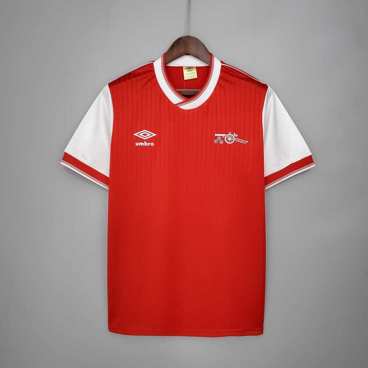 Arsenal 1983-86 Retro Home Jersey [Pre-paid Only]