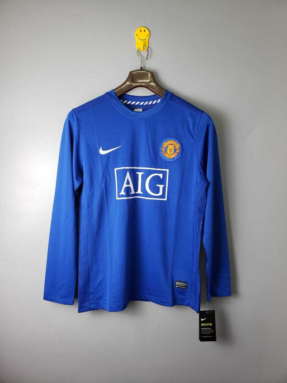 Manchester United 2007-08 Retro Away Full Sleeves Jersey [Pre-paid Only]