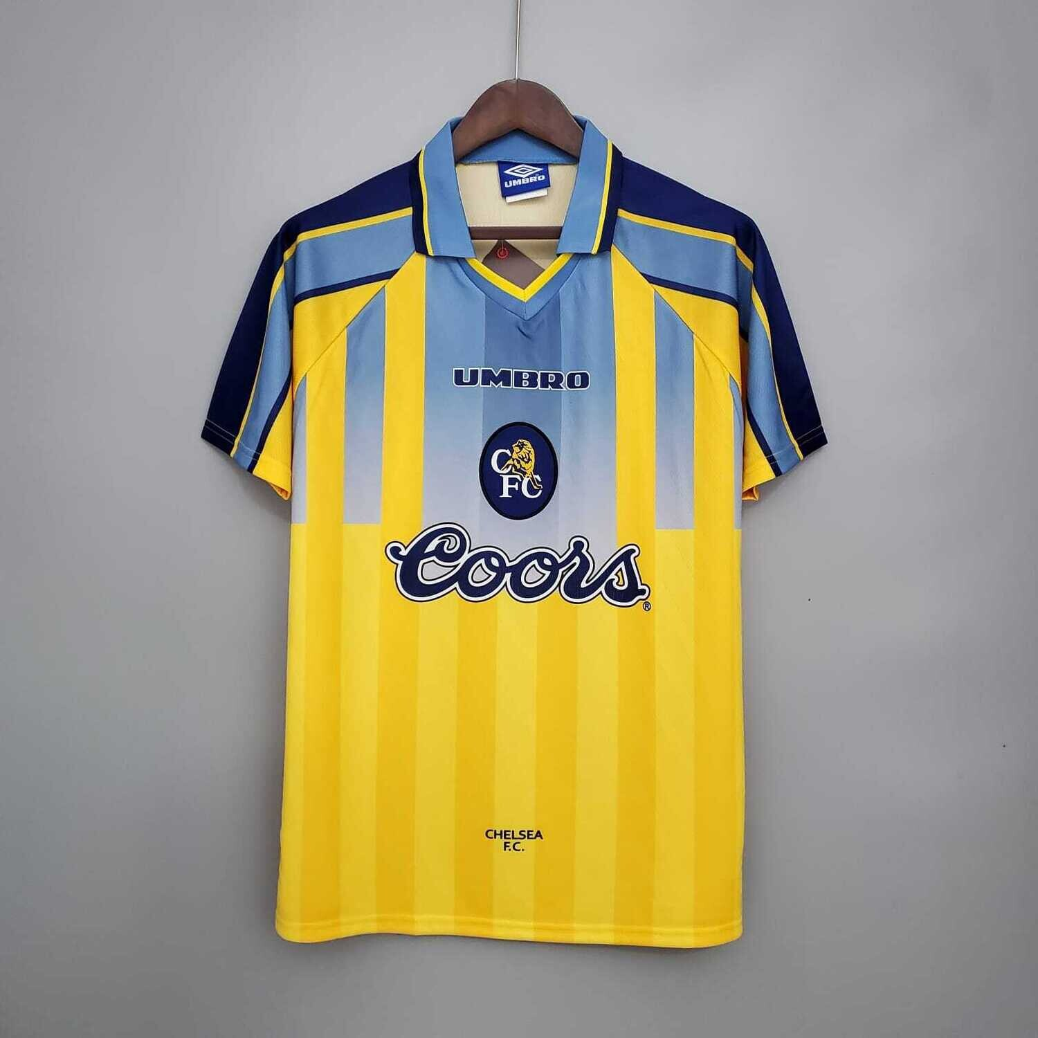 Chelsea 1995-97 Retro Away Jersey [Pre-paid Only]