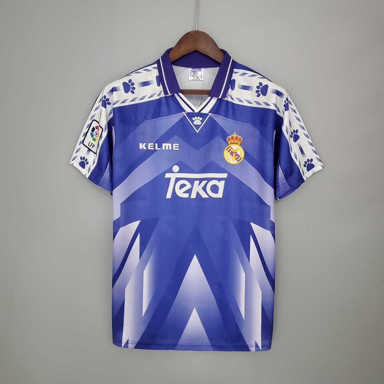 Real Madrid 1996-97 Retro Away Jersey [Pre-paid Only]