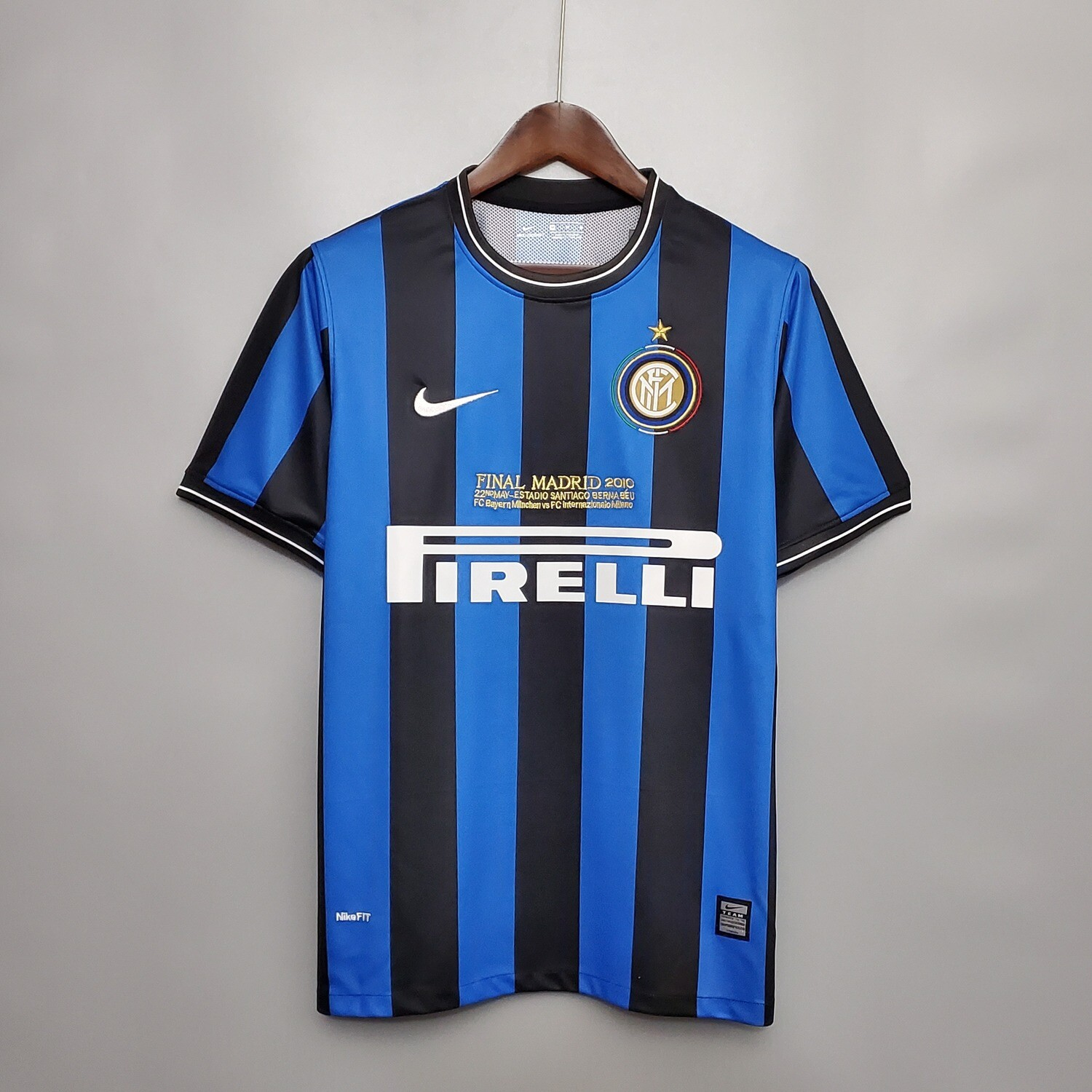 Inter Milan 2009-10 Retro Home UCL Final Jersey [Pre-paid Only]
