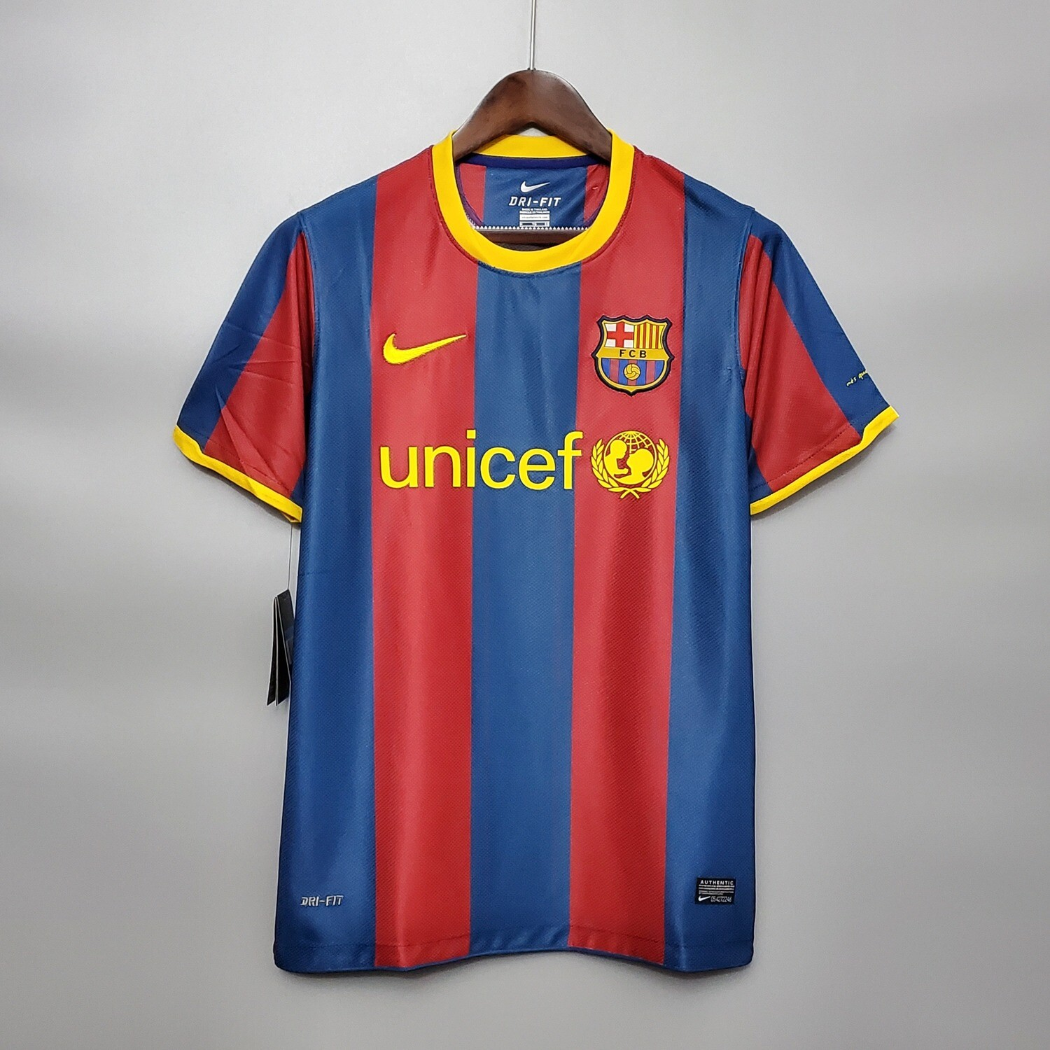 Barcelona 2010-11 Retro Home Jersey [Pre-paid Only]
