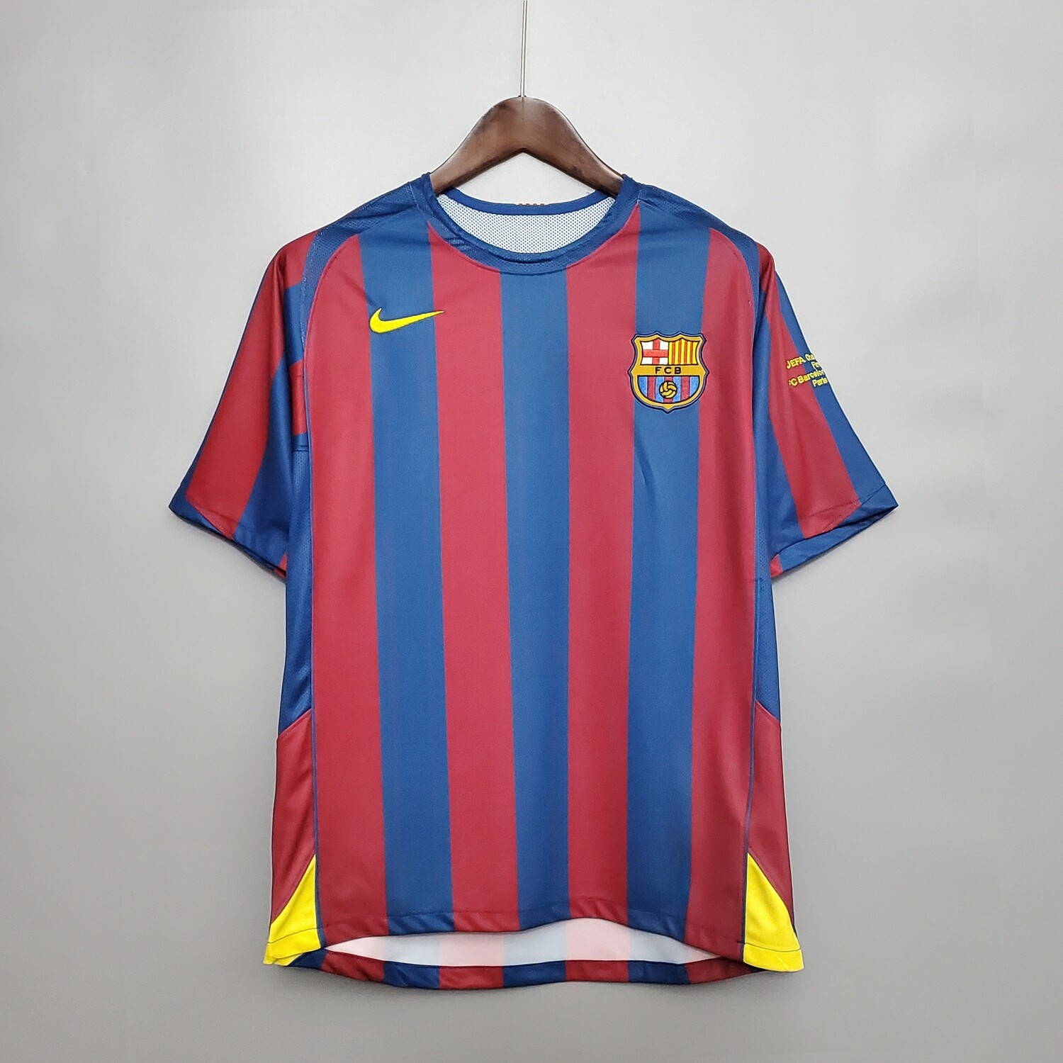 Barcelona 2005-06 Retro Home UCL Final Jersey [Pre-paid Only]