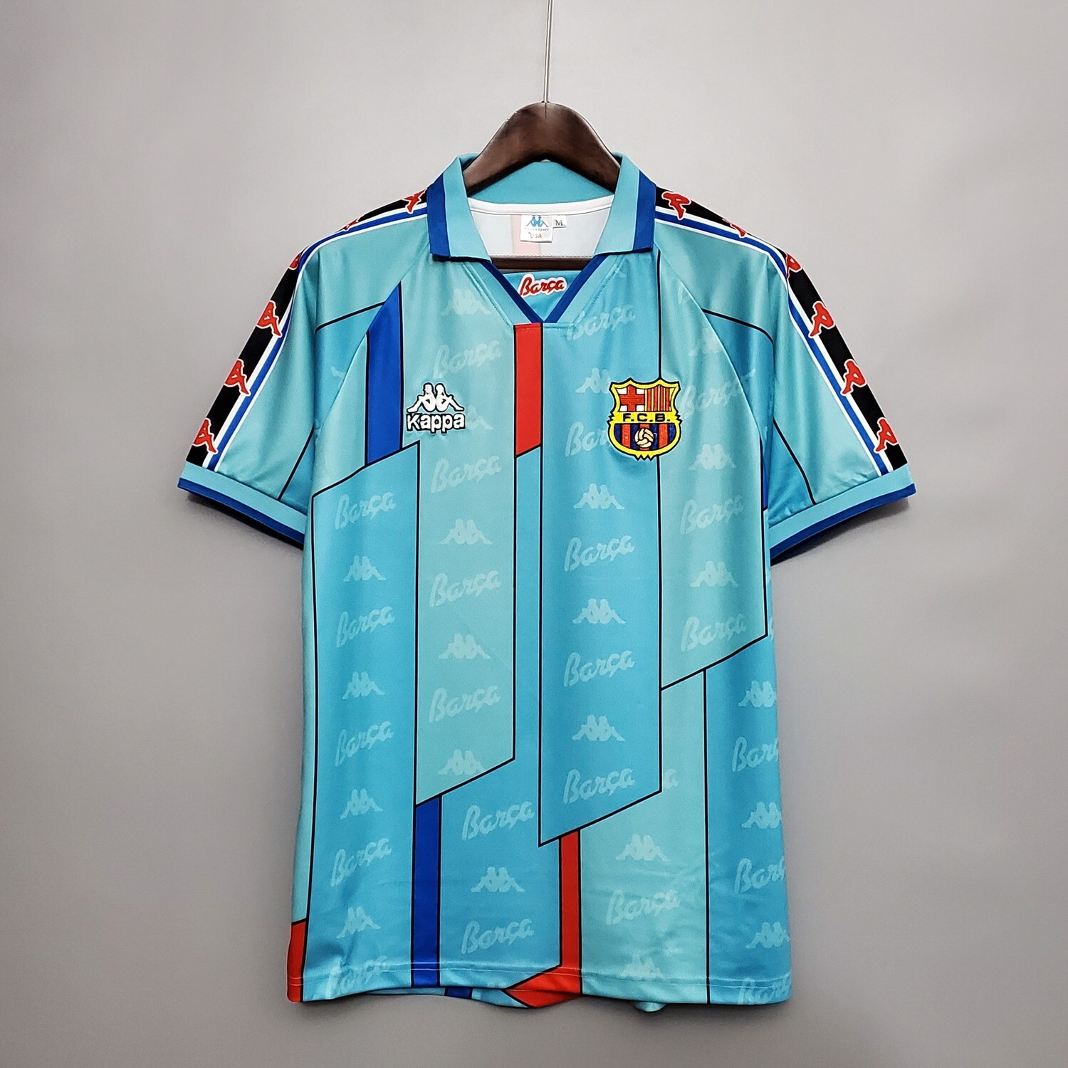 Barcelona 1996-97 Retro Away Jersey [Pre-paid Only]