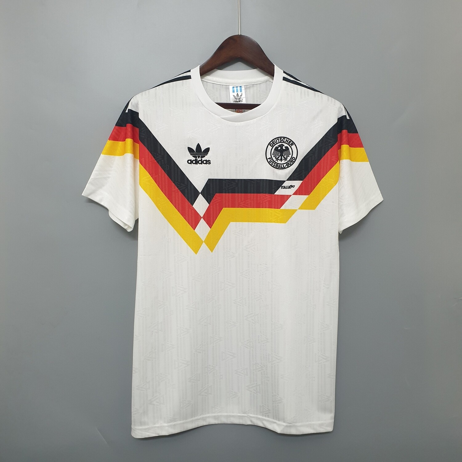 Germany 1990 Retro Home Jersey [Pre-paid Only]