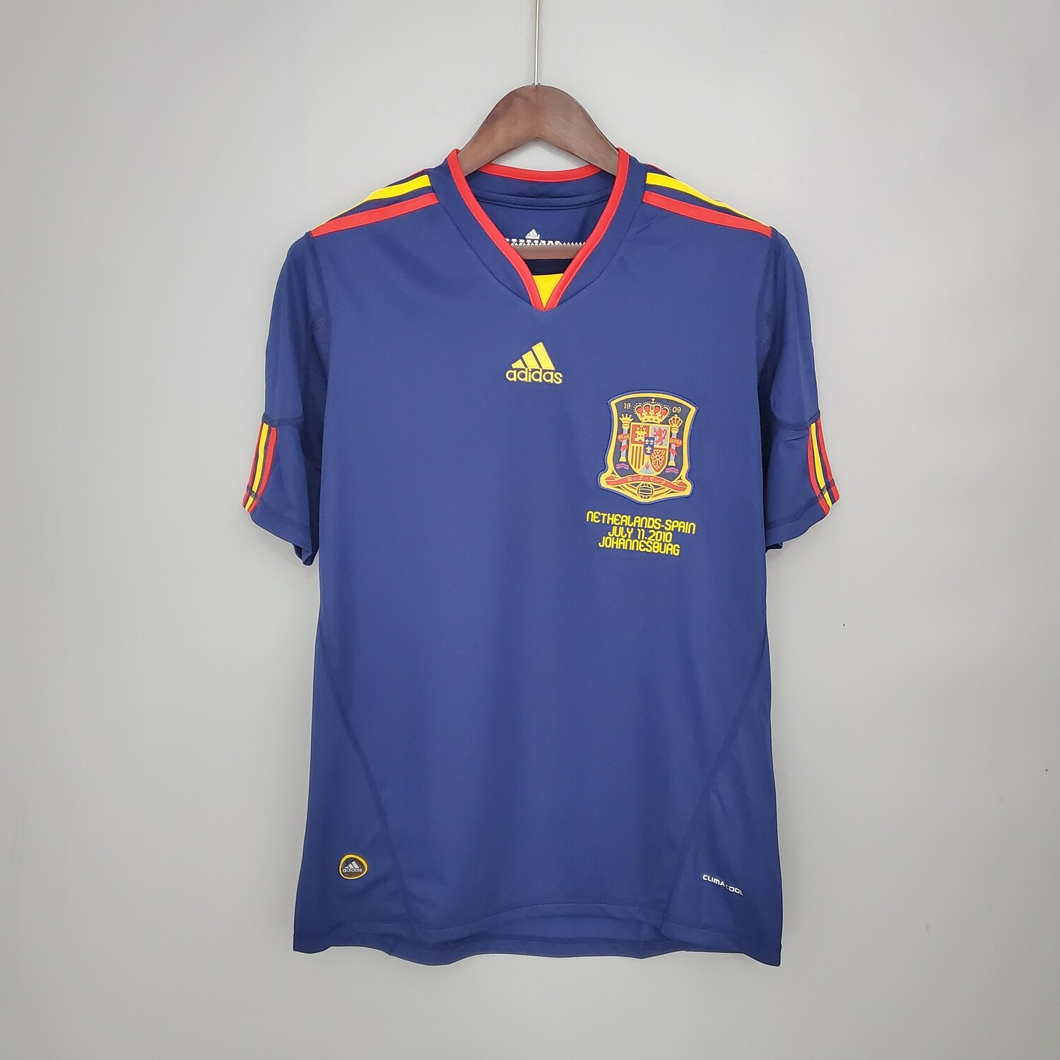 Spain 2010 Retro Away Jersey [Pre-paid Only]