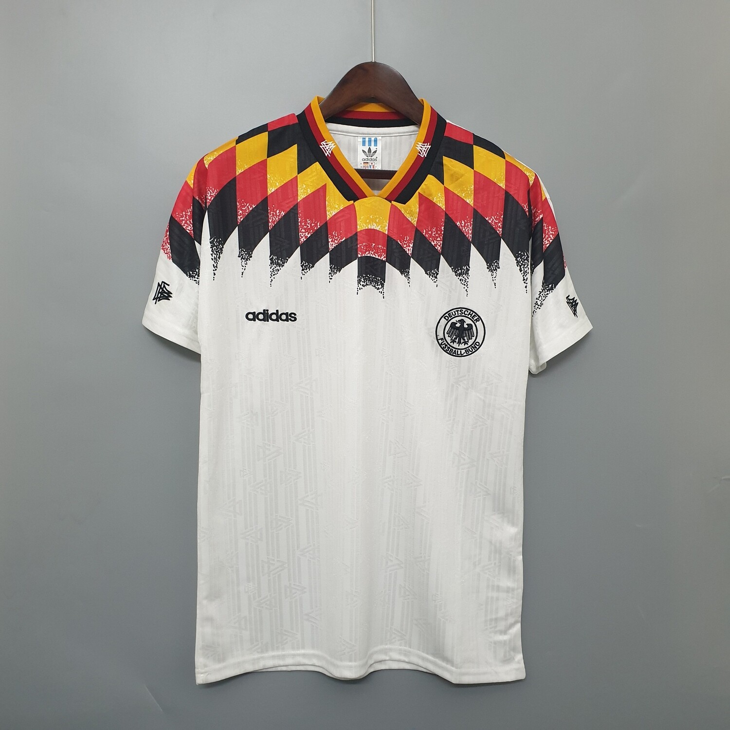 Germany 1994 Retro Home Jersey [Pre-paid Only]