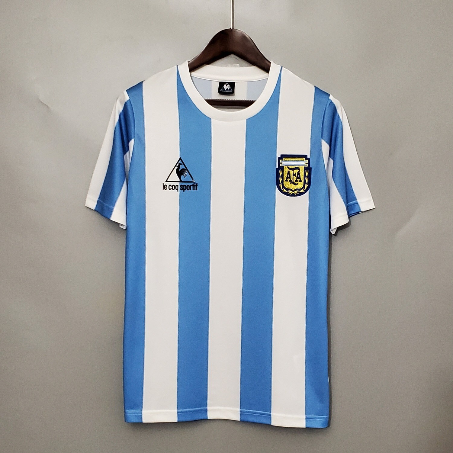 Argentina 1986 Retro Home Jersey [Pre-paid Only]