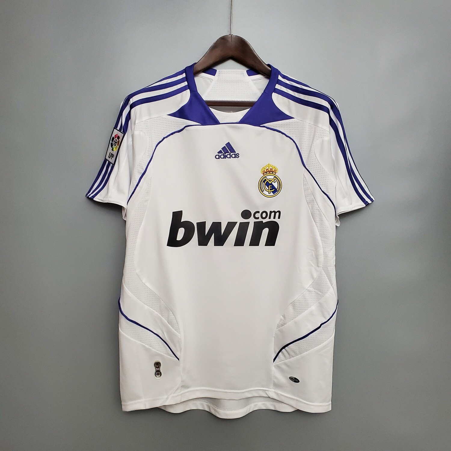 Real Madrid 2007-08 Retro Home Jersey [Pre-paid Only]