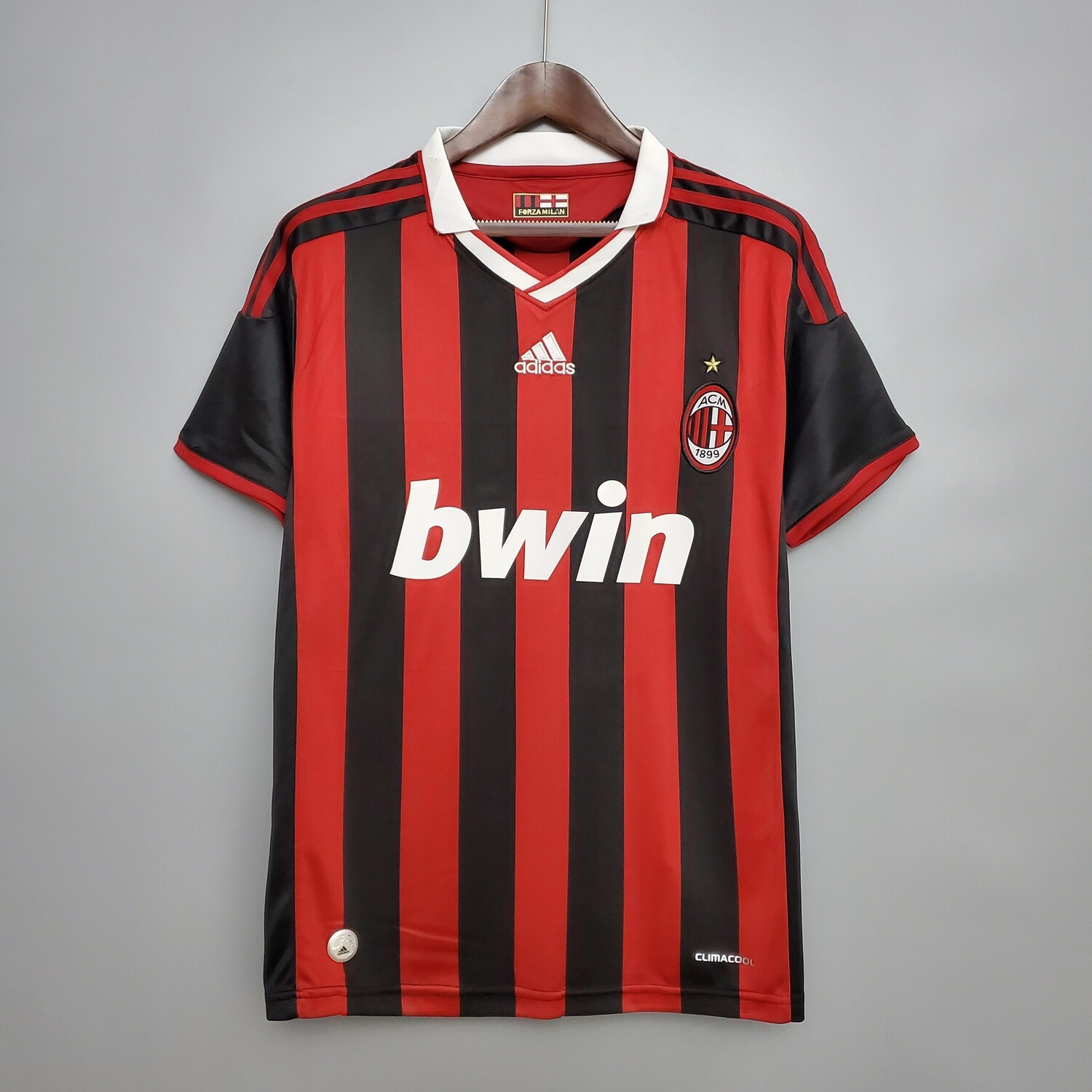 AC MIlan 2009-10 Retro Home Jersey [Pre-paid Only]