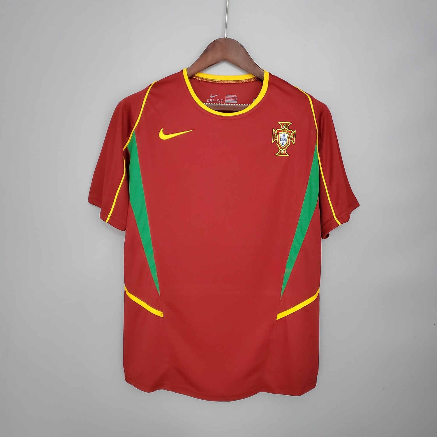 Portugal 2002 Retro Home Jersey [Pre-paid Only]
