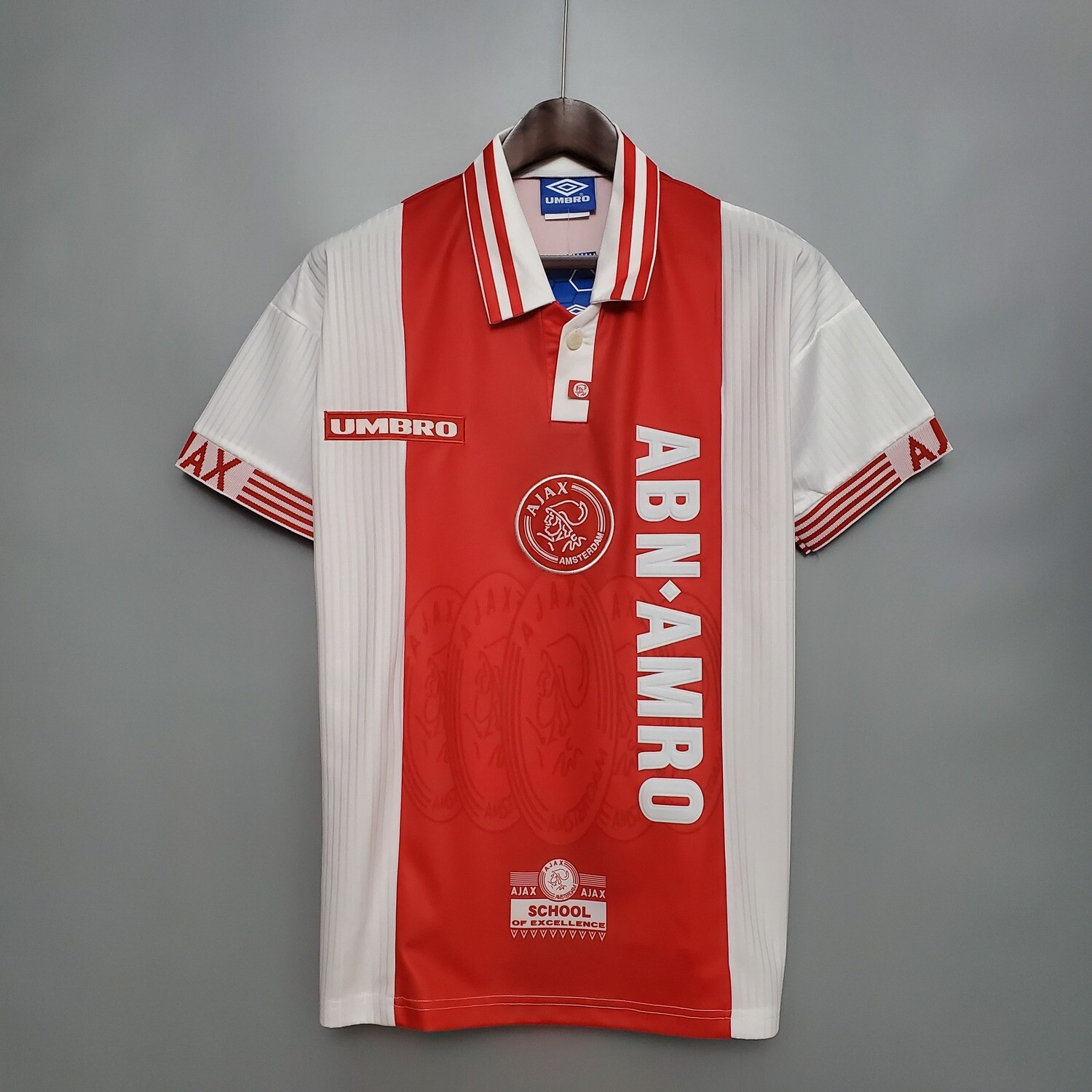 Ajax 1997-98 Retro Home Jersey [Pre-paid Only]