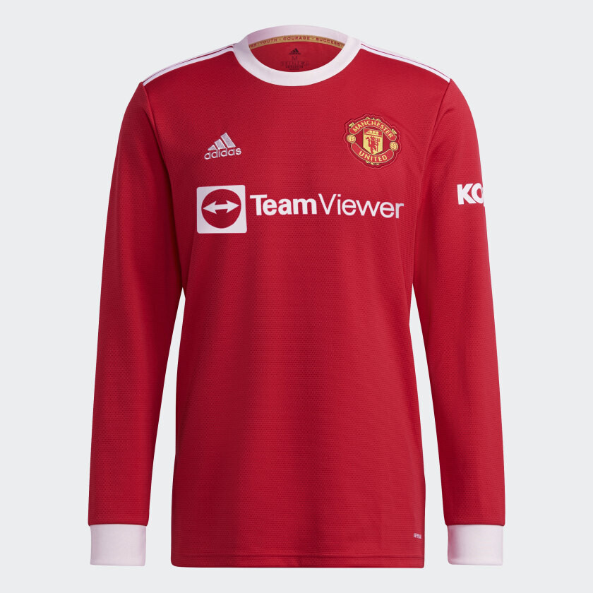 Manchester United Home 21-22 Long Sleeve [Pre-order]