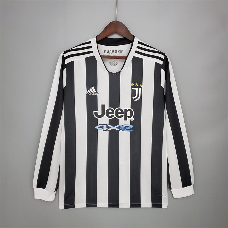 Juventus Home Long Sleeves 2021-22