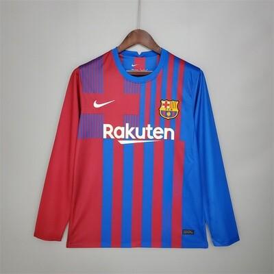 Barcelona Home Long Sleeves 2021-22