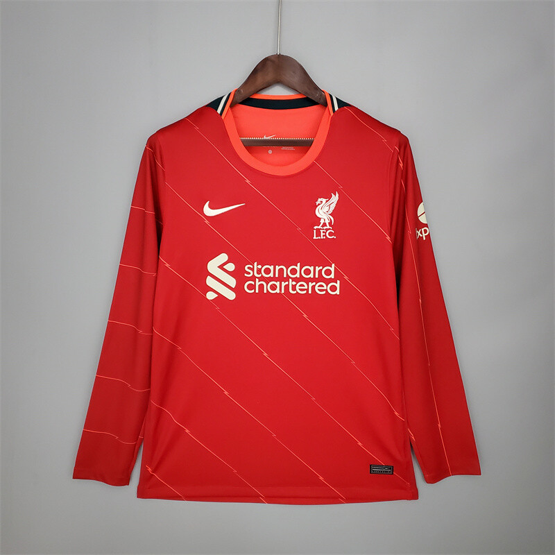 Liverpool Home Long Sleeves 2021-22