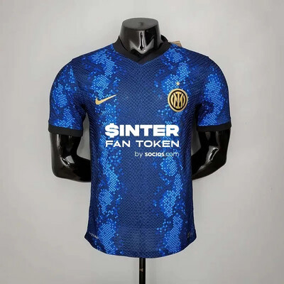 Inter Milan Home [Player] Jersey 2021-22