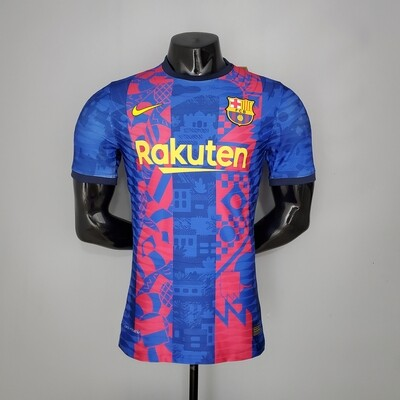 Barcelona UCL Edition [Player] Jersey 2021-22