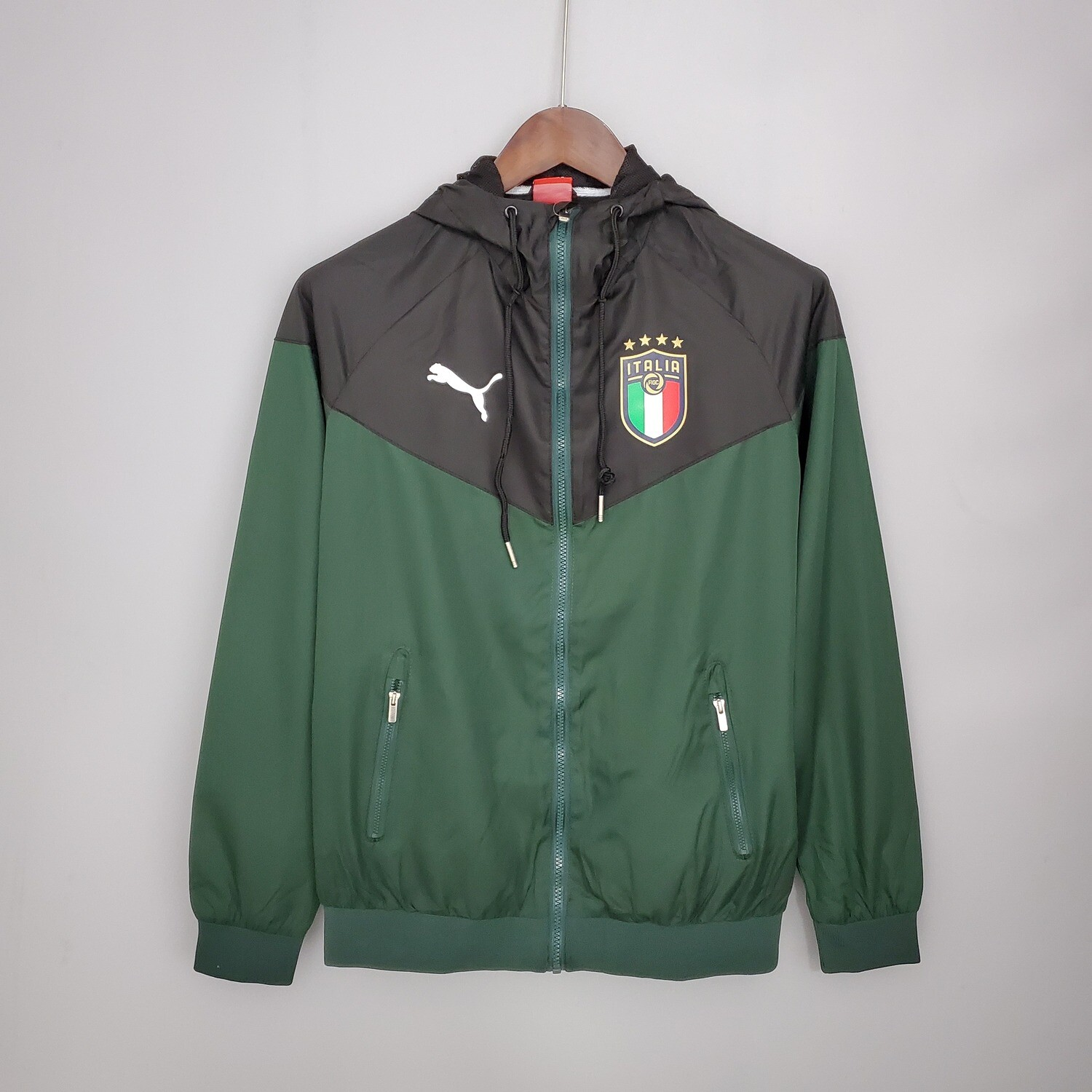 Italy Green and Black Windbreaker 2021-22 [Pre-paid Only]