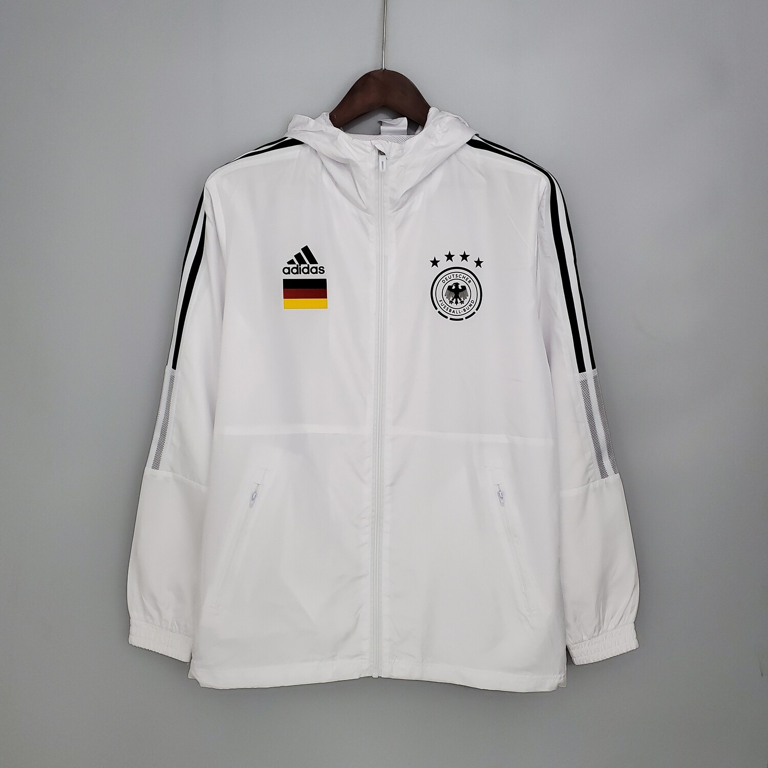 Germany White Windbreaker 2021-22 [Pre-paid Only]