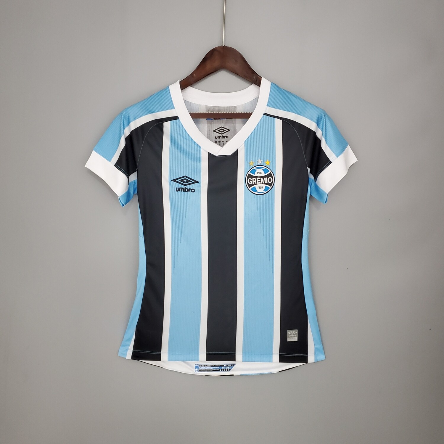 Gremio Home [Brazil] 2021 Women's Jersey [Pre-paid Only]