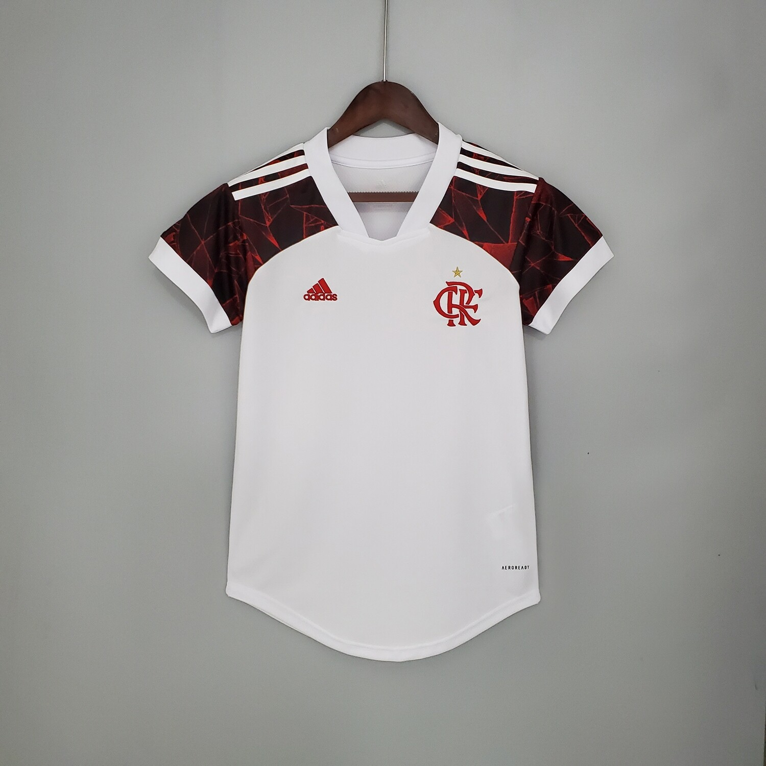 Flamengo Home [Brazil] 2021 Women's Jersey [Pre-paid Only]