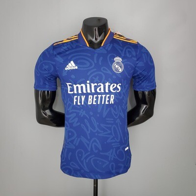 Real Madrid Away [Player] Jersey 2021-22