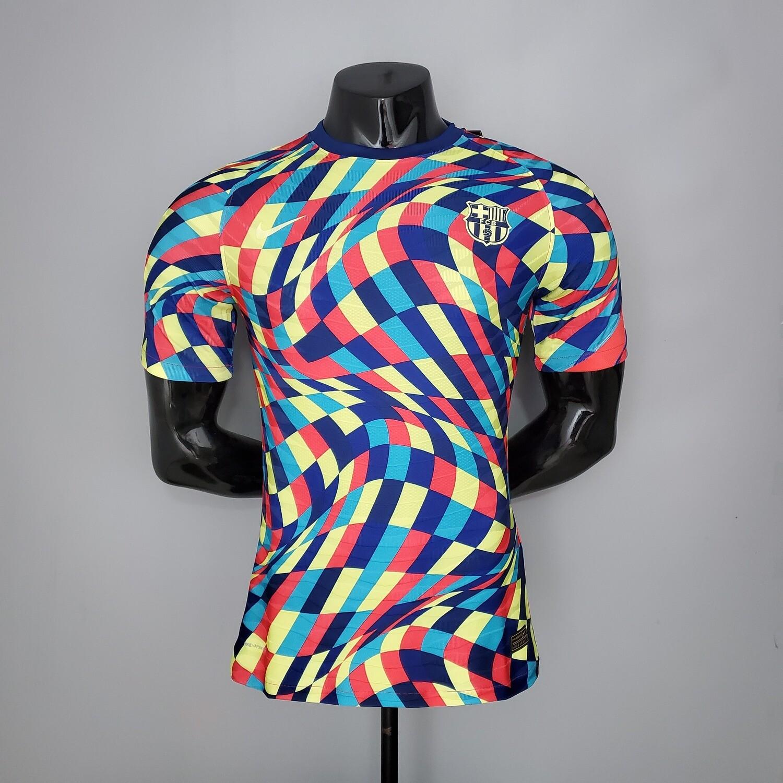 Barcelona Training [Player] Jersey 2021-22