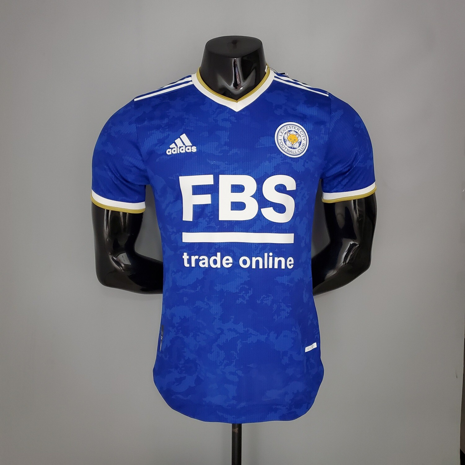 Leicester City Home [Player] Jersey 2021-22