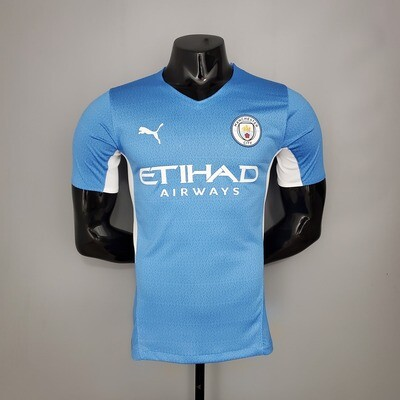 Manchester City Home [Player] Jersey 2021-22