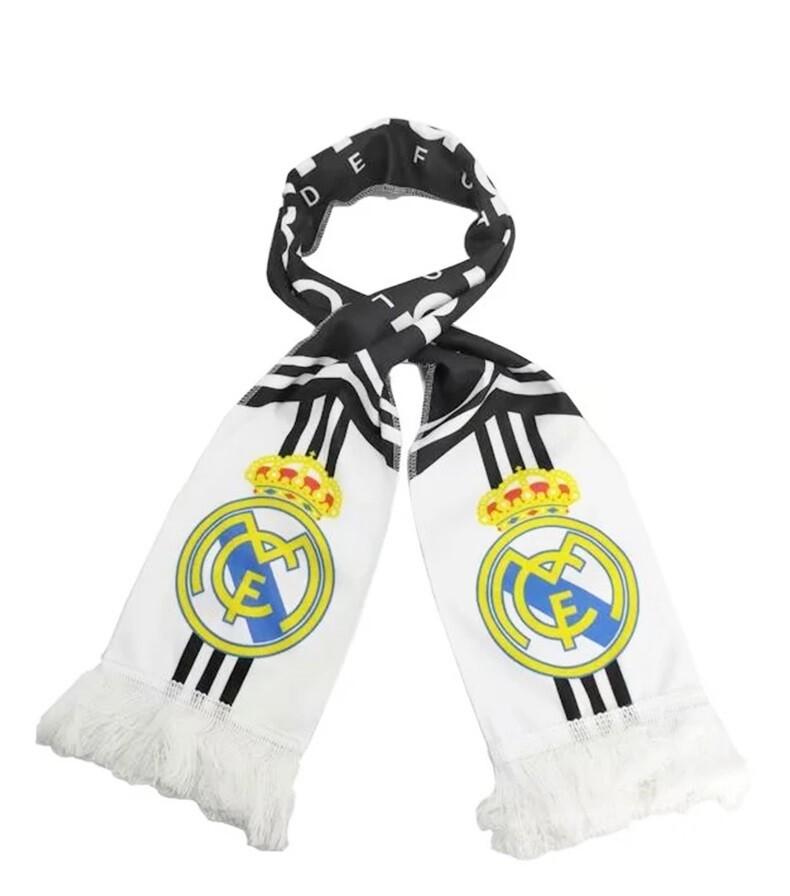 Real Madrid Scarf - White Theme