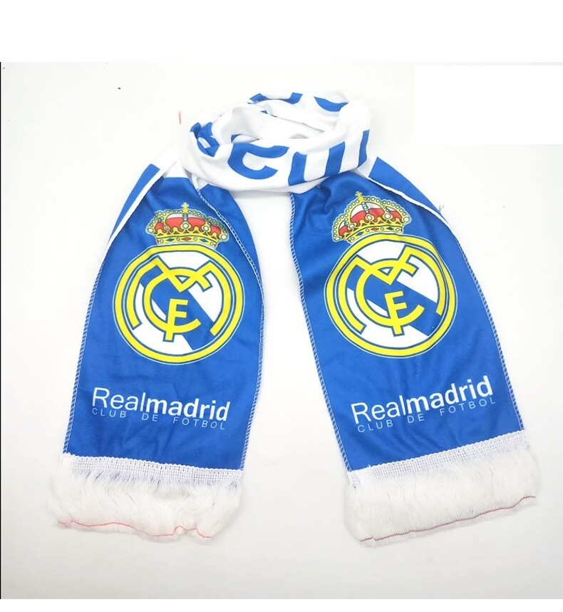 Real Madrid Scarf - Blue Theme