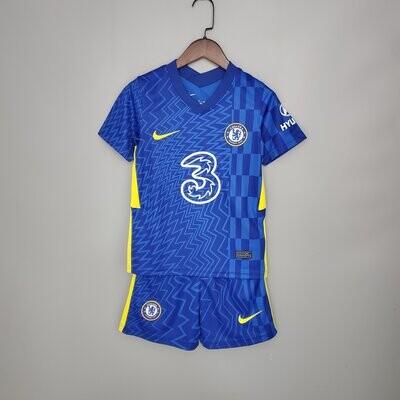 Chelsea 21-22 Kids Jersey Set
