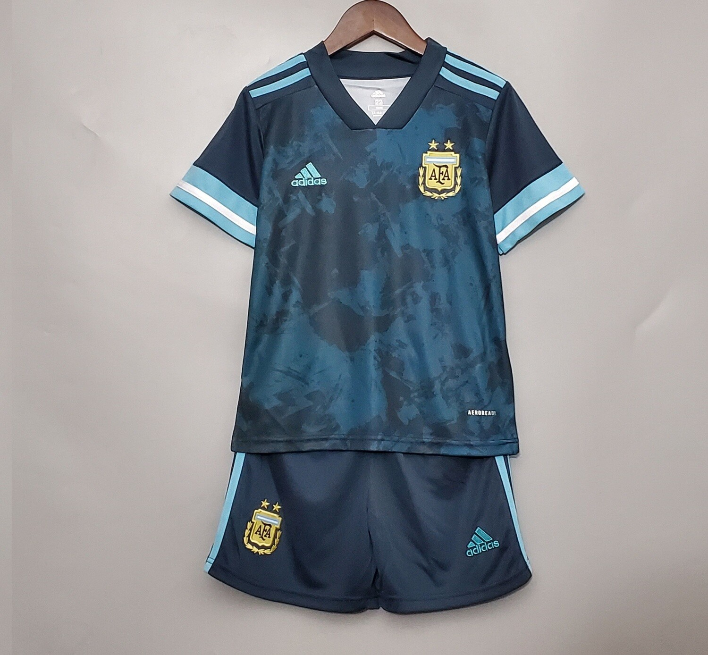 Argentina Away Kids Jersey Set